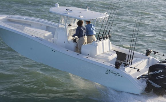 Designed by Yellowfin Yacht