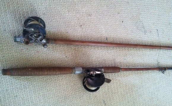 Antique fishing rods?