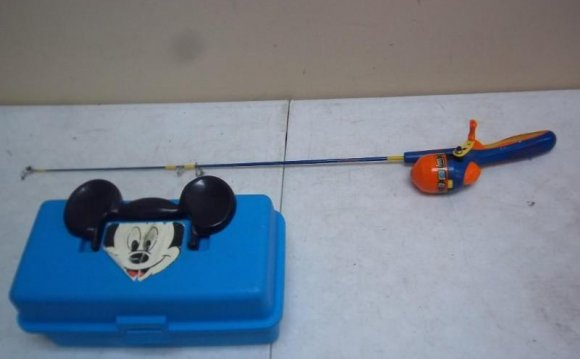 Mickey Mouse tackle Box And