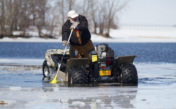 #29 Ice Fishing Atv