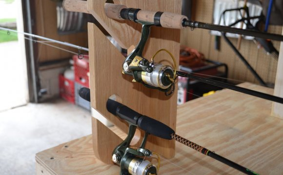 Fishing Pole Racks
