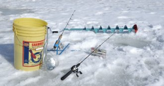 Getting started in ice fishing is relatively easy. In just the essential gear, anyone can enter the video game.