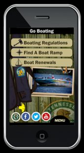 TWRA App Boat Screen