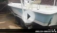 2005 Sea Fox 225 Bay Fisher Saltwater Fishing Boats - Nun