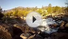 Fishing The Kern River Near Kernville California By