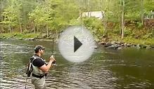 Fly fishing on the Farmington river 2012.wmv