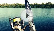 Inshore fishing rod with SenZigrip