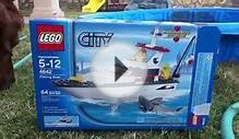 Lego city fishing boat review